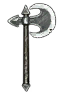 Weapons Temerian steel axe