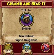 Q GH Grimnir and Bear It