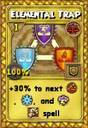 Elemental Trap Treasure Card
