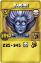 Banshee Treasure Card