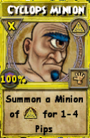 Cyclops Minion (Spell)