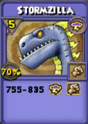 Stormzilla Item Card