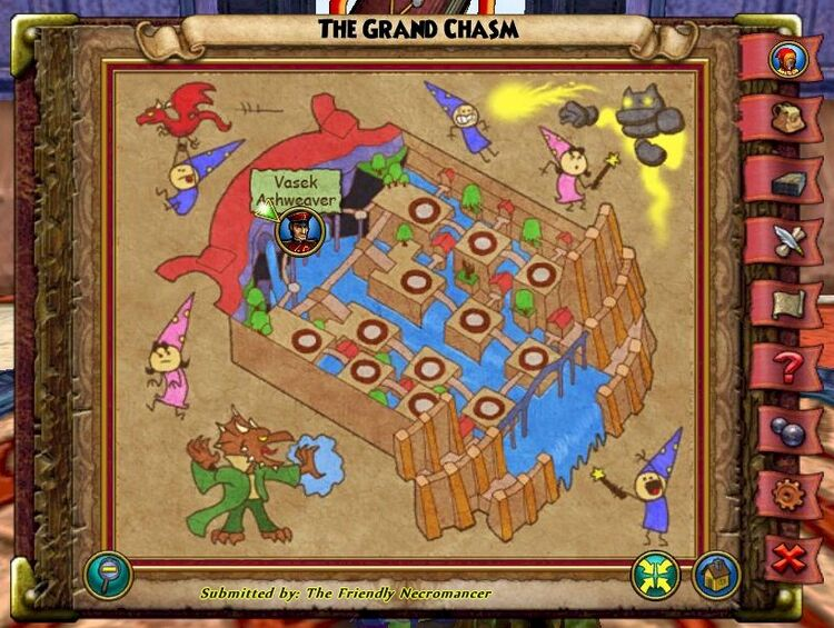 The Grand Chasm Past