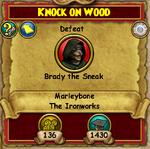 MB Q Knock on Wood 1