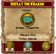Defeat The Kraken