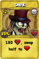Ghoul Treasure Card