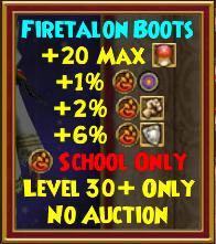 Boots - Firetalon Boots
