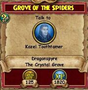 Grove of Spiders QDS