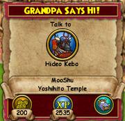 Grandpa Says Hi!