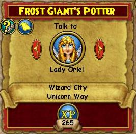 Frost Giant's Potter