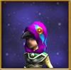 Hat Raven Hood Female