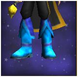 Frosty boots of the hearth