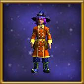 Malistaire's Dragonfire Cloak Male