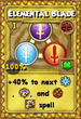 Elemental Blade Treasure Card