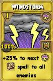 Windstorm Treasure Card