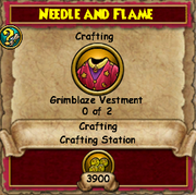 Needle and Flame (Fire Quest)