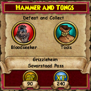 Hammer and Tongs