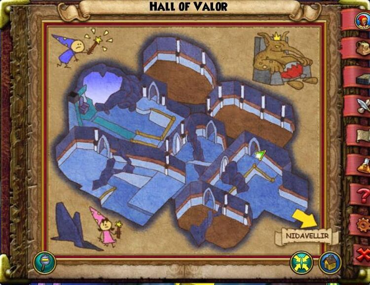 Map GH Hall of Valor