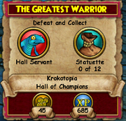 The Greatest Warrior