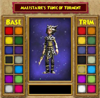 Robe DS Malistaire's Tunic of Torment Female