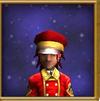 Hat Brigadier's Cap Male