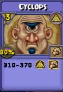 Cyclops Item Card