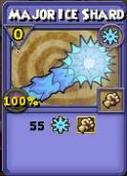 Major Ice Shard Item Card