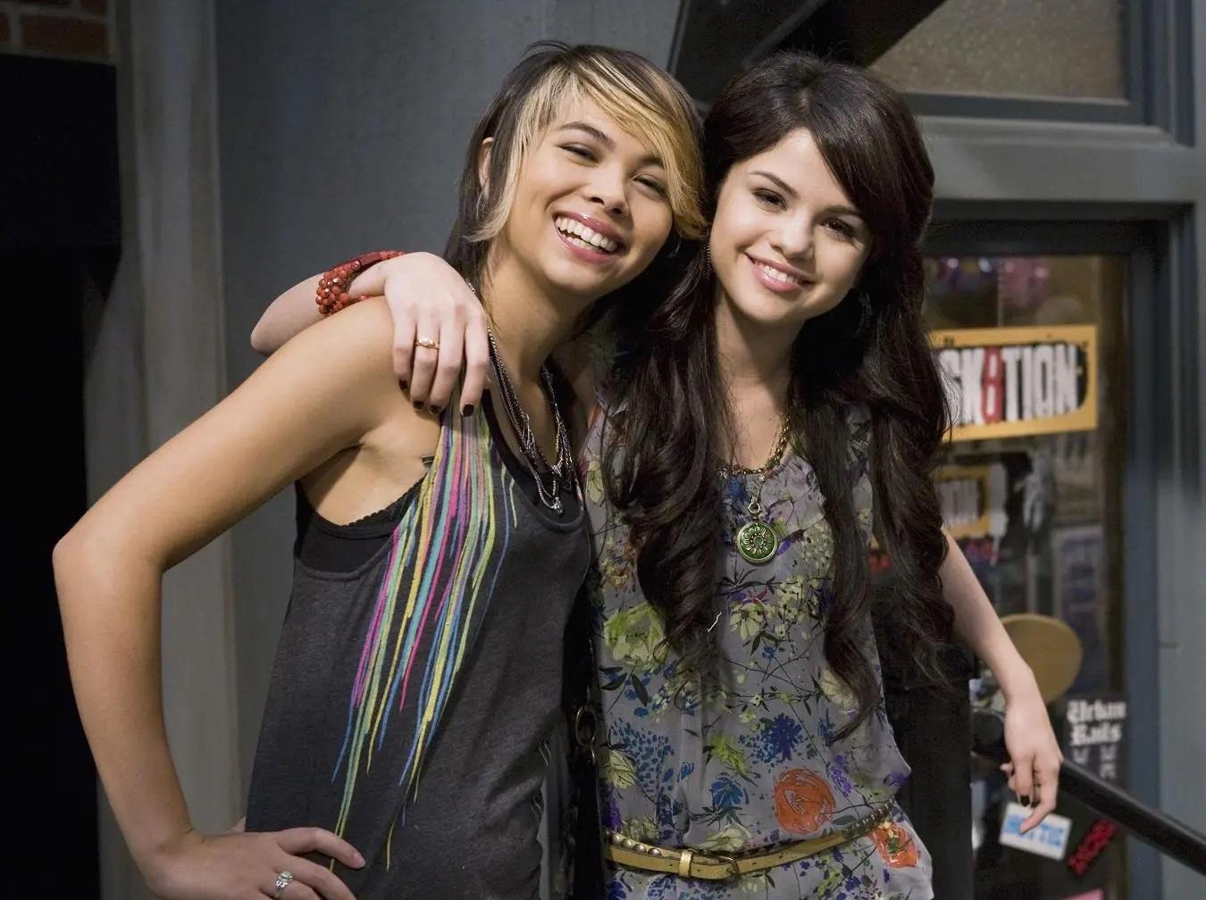 File:Selena Gomez & Hayley Kiyoko Eat To the Beat.jpg