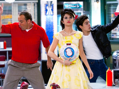 Rock Around the Clock on wizards of waverly place harperella