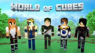 World of Cubes Medieval Skin Pack Overview