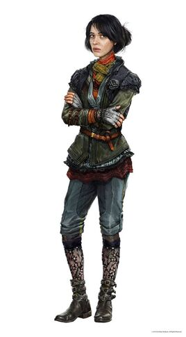 Female Resistance Fighter (The New Order)