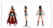 Wonder Woman body