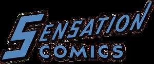 Sensation Comics logo