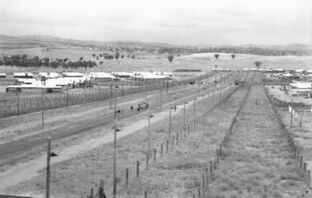 Four compounds of Cowra POW camp, circa 1944