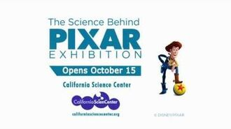 The Science Behind Pixar Exhibition - Opens Oct 15-1