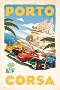 Cars 2 Vintage poster 2