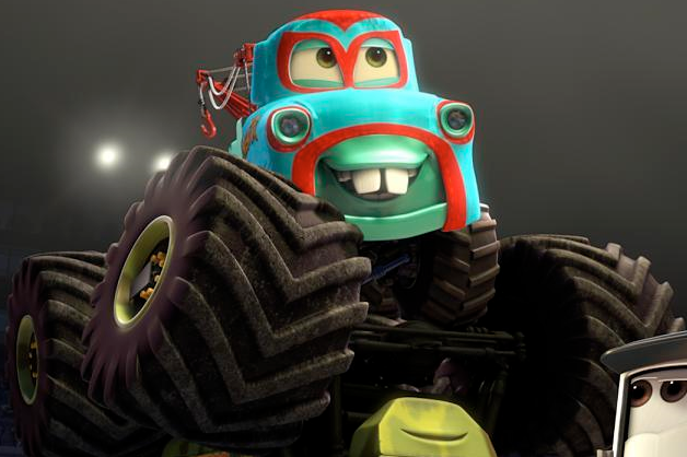 Image Mater Monster Truck Mater Mask Png World Of Cars Wiki