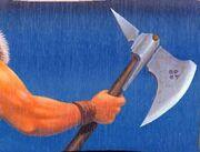 Half-moon axe