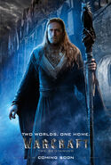 Warcraft movie poster - Medivh