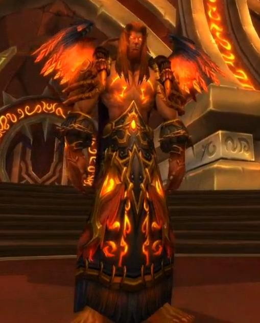 Majordomo staghelm wowwiki wikia for Fireland stufe