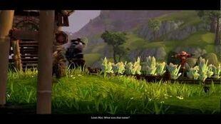 The Swarm Begins (Mist of Pandaria In-Game Cinematic) SUB
