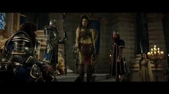 "WARCRAFT Movie Clip ""King Llane Asks Garona To Help Them"" - Dominic Cooper, Paula Patton"