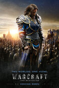 Warcraft movie poster - Lothar