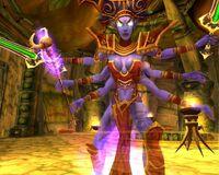 Giselda the Crone Demon Form