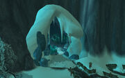 Frostmourne Cavern entrance