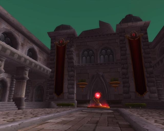 Ruins of Lordaeron Location at The Ruins of Lordaeron