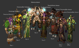 Druid Tier Sets