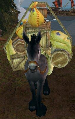 Abandoned Pack Mule