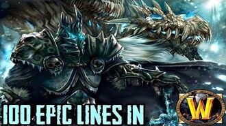 100 Epic Lines In World of Warcraft