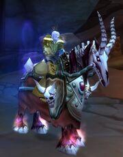 Red Skeletal Warhorse